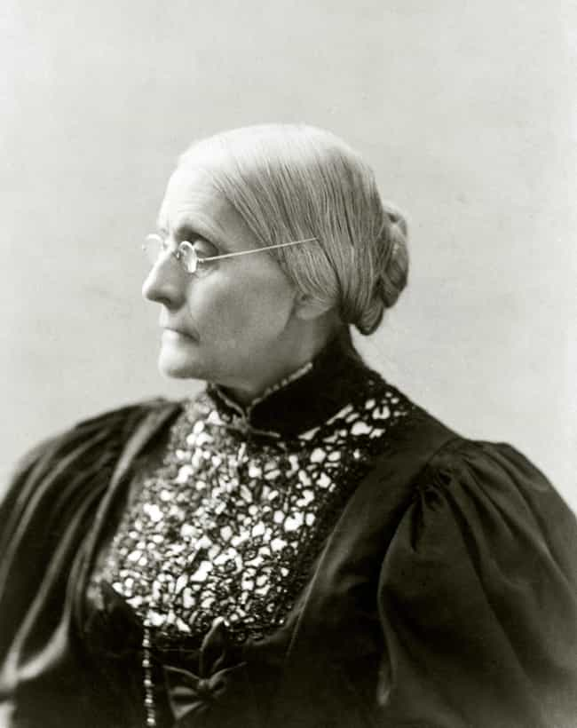 Susan B. Anthony is listed (or ranked) 4 on the list Famous American Women Who Deserve Their Faces On Money