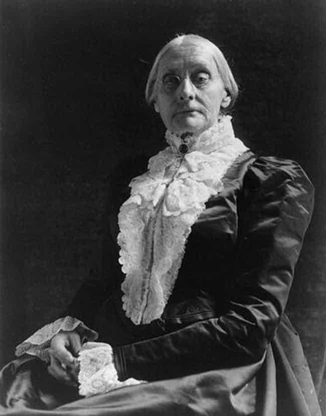 Susan B. Anthony is listed (or ranked) 3 on the list Famous American Women Who Deserve Their Faces On Money