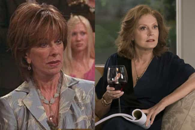 Susan Sarandon is listed (or ranked) 1 on the list Who Would Star In 'Friends' If It Were Made Today?