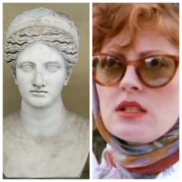 Hera - Susan Sarandon is listed (or ranked) 2 on the list Who Would Play The Greek Gods And Goddesses If They Were Cast In The '90s?