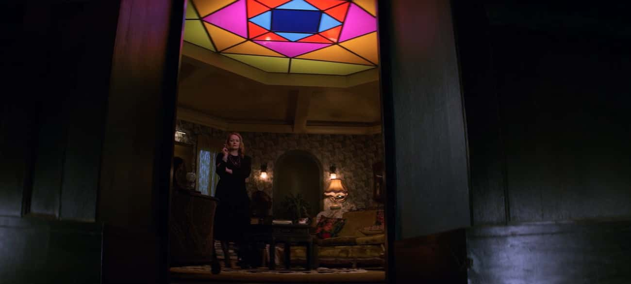 The Stained Glass Ceiling Refe is listed (or ranked) 2 on the list The Best Parts Of 'Chilling Adventures Of Sabrina' Are Ripped Straight From Horror Properties