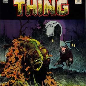 Swamp Thing is listed (or ranked) 9 on the list The Coolest Comic Characters That Aren't Superheroes