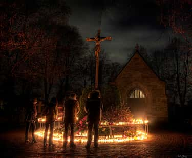 In Sweden, Christians Pray in Preparation for All Saints' Day