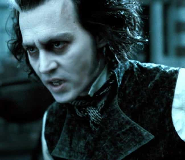 Sweeney Todd is listed (or ranked) 4 on the list 17 Characters Who Broke Bad (Other Than Walter White)