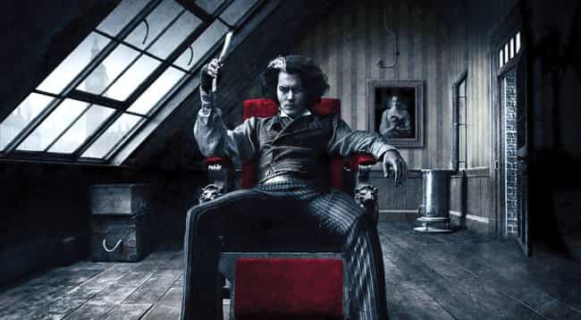 Sweeney Todd is listed (or ranked) 2 on the list Which Fictional Goth Guy Are You Based On Your Zodiac?