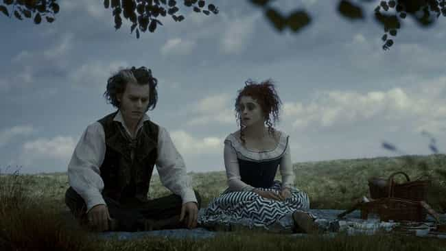 Sweeney Todd is listed (or ranked) 2 on the list 13 Most Memorable TV And Movie Romances With Serial Killer Love Interests