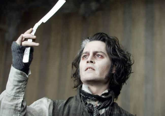 Sweeney Todd is listed (or ranked) 2 on the list Horror And Suspense Film Villains Who Are Really Good At Their Day Jobs