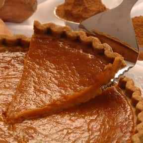 Sweet Potato Pie is listed (or ranked) 16 on the list The Most Delicious Thanksgiving Side Dishes