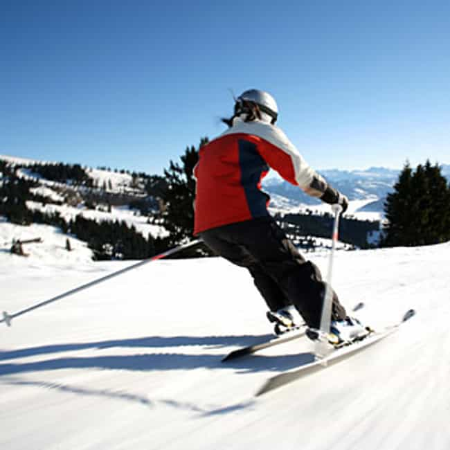 Switzerland is listed (or ranked) 2 on the list The Best Countries for Skiing