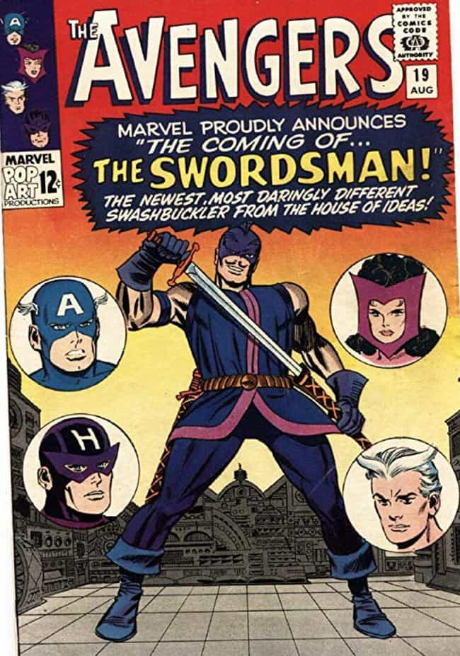 Swordsman is listed (or ranked) 4 on the list The Best Hawkeye Villains, Foes and Enemies