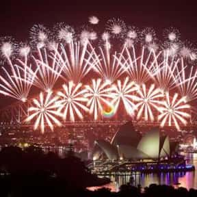 Sydney is listed (or ranked) 5 on the list The Best Cities to Party in for New Years Eve