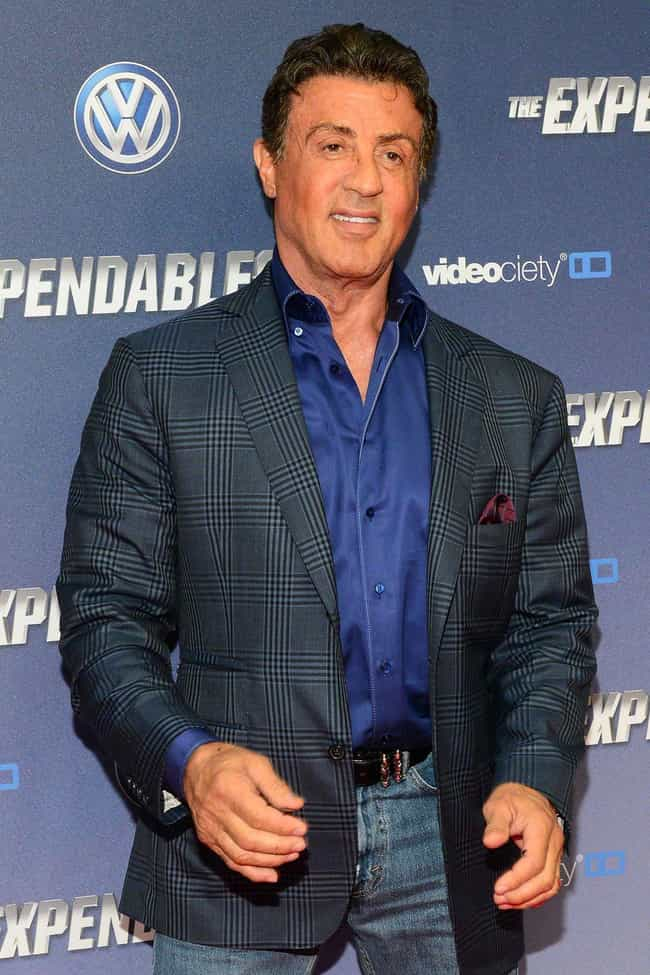 Sylvester Stallone is listed (or ranked) 7 on the list Famous Cancer Celebrities
