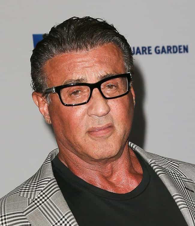 Sylvester Stallone is listed (or ranked) 2 on the list Celebrities Who Have Had Bell's Palsy