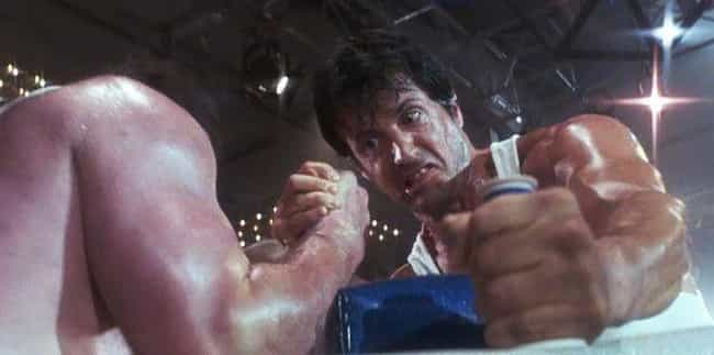 Sylvester Stallone is listed (or ranked) 2 on the list Which Action Star Has The Butchest Character Names?