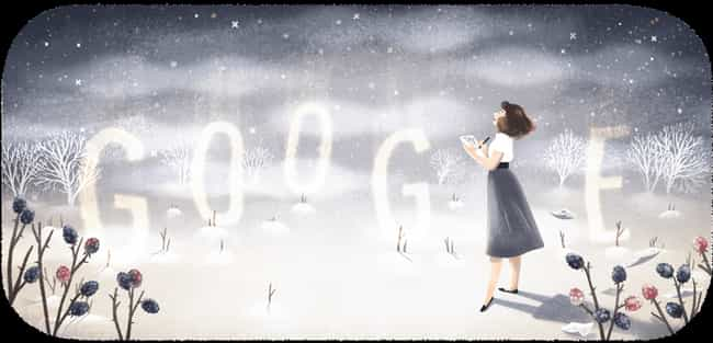 Sylvia Plath is listed (or ranked) 1222 on the list Every Person Who Has Been Immortalized in a Google Doodle