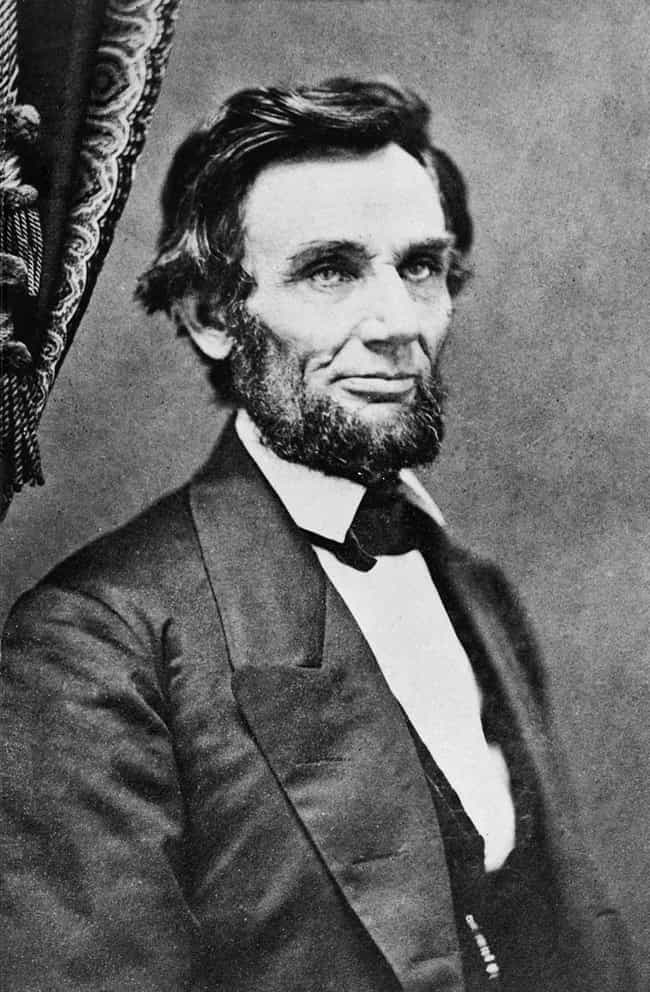 """Syphilis is listed (or ranked) 2 on the list Everything People Have """"Diagnosed"""" Abe Lincoln With"""