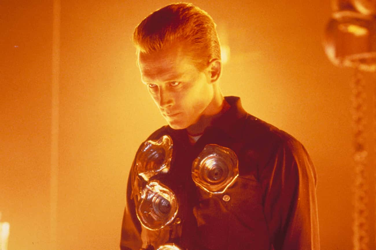 Robert Patrick In 'Terminator  is listed (or ranked) 3 on the list The Scariest Performances In Sci-Fi Movies