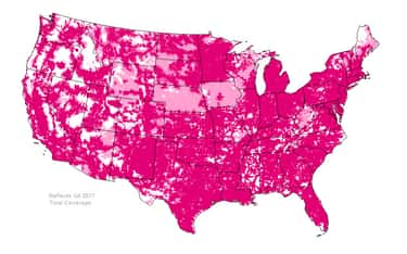 T-Mobile US is listed (or ranked) 1 on the list The Best Phone Networks