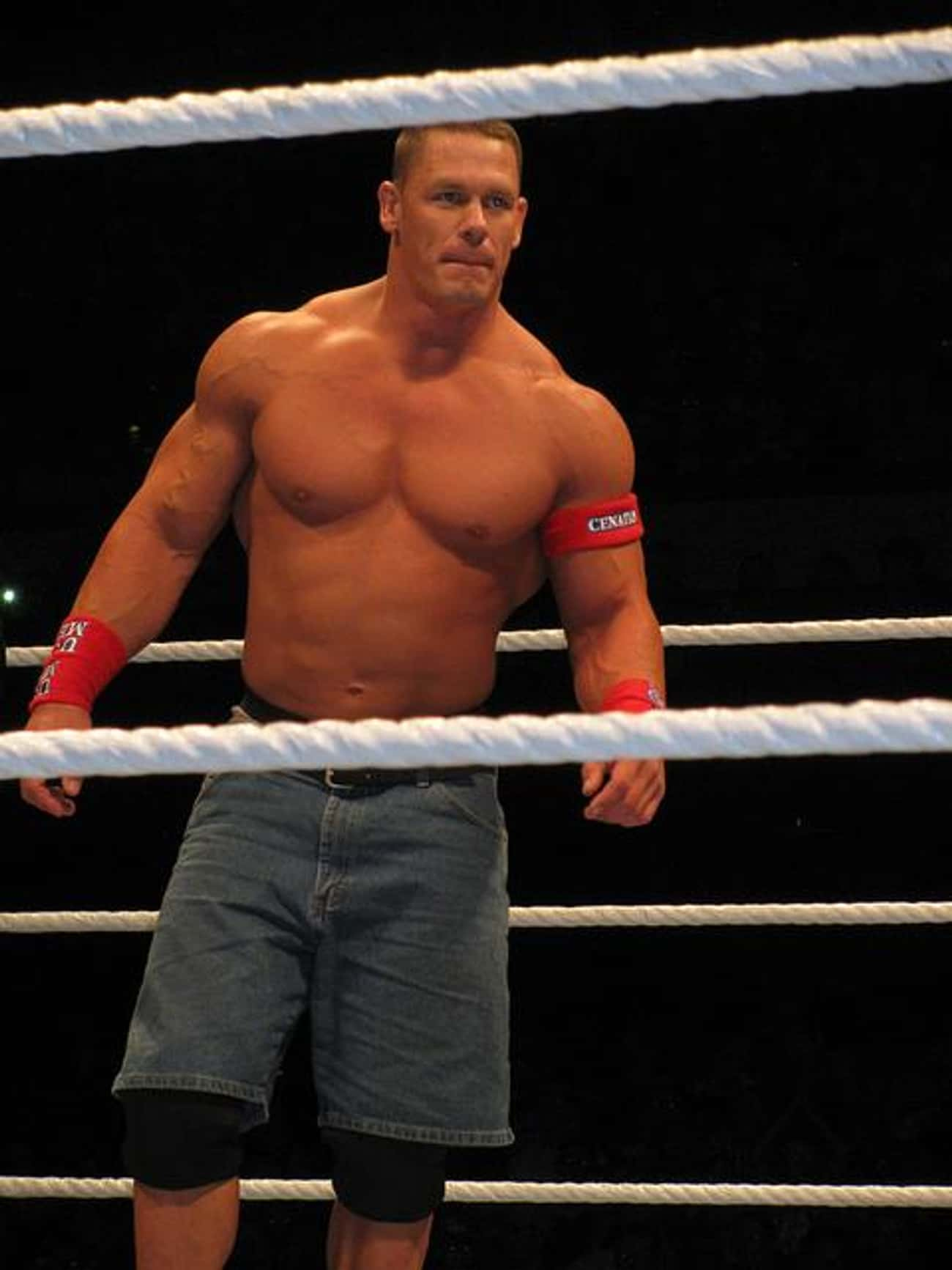 John Cena is listed (or ranked) 1 on the list The Top Five WWE Superstars Who Won The Highest Number of Titles