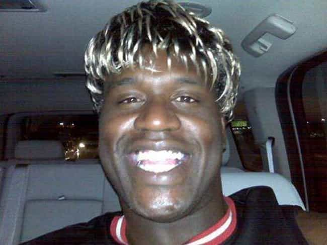 Shaq is listed (or ranked) 1 on the list 25 Celebrities That Gave Us Douche Chills With Their Frosted Tips