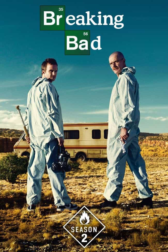 Breaking Bad - Season 2 is listed (or ranked) 4 on the list Rank the Seasons of 'Breaking Bad'