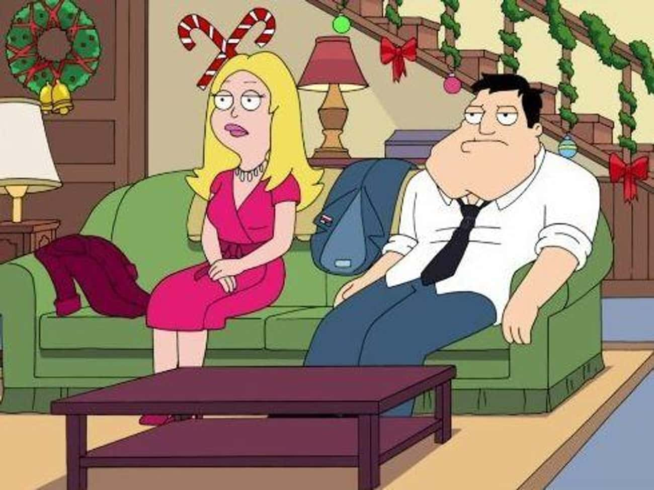 Rapture's Delight is listed (or ranked) 2 on the list The Best Christmas Episodes On 'American Dad!'