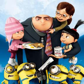 Despicable Me is listed (or ranked) 16 on the list The Best Animated Films Ever