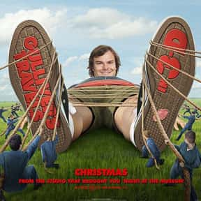 Gulliver's Travels is listed (or ranked) 17 on the list The Best Jack Black Movies