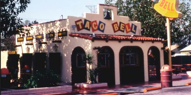 Taco Bell is listed (or ranked) 6 on the list Amazing Early Photos of the World's Most Iconic Companies