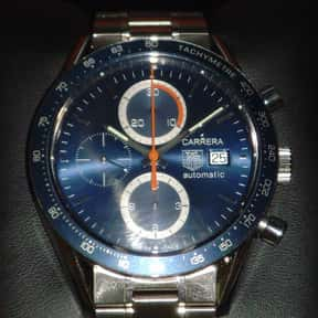 TAG Heuer is listed (or ranked) 11 on the list The Best Watch Brands