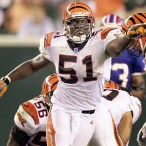 Takeo Spikes is listed (or ranked) 20 on the list The Best Cincinnati Bengals of All Time