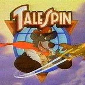 TaleSpin is listed (or ranked) 20 on the list The Best Kids Cartoons of All Time
