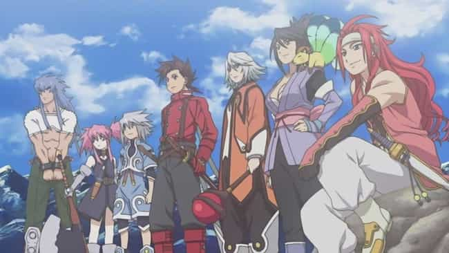 Tales of Symphonia is listed (or ranked) 1 on the list The 15 Best Anime RPGs You Can't Afford To Miss