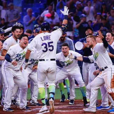 Tampa Bay Rays is listed (or ranked) 2 on the list Which MLB Team Will Be Next To Win Its First World Series?