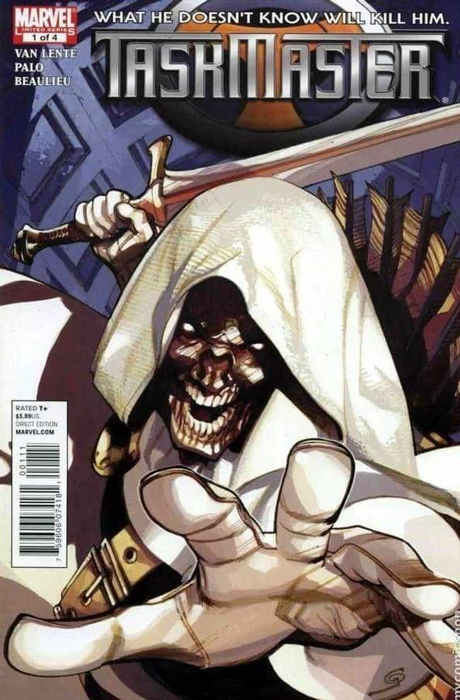 Taskmaster is listed (or ranked) 3 on the list 7 Comic Book Characters Who Unfortunately Were Cut From Movies