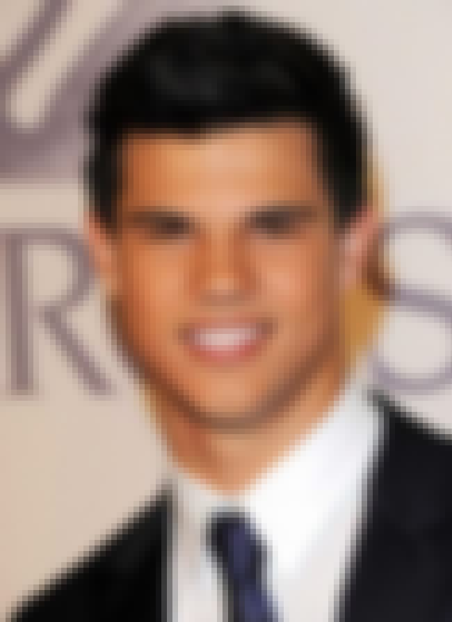 Taylor Lautner Lazy Eye Celebrities with Strab...