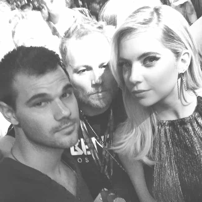 Taylor Lautner is listed (or ranked) 4 on the list Ashley Benson Loves and Hookups