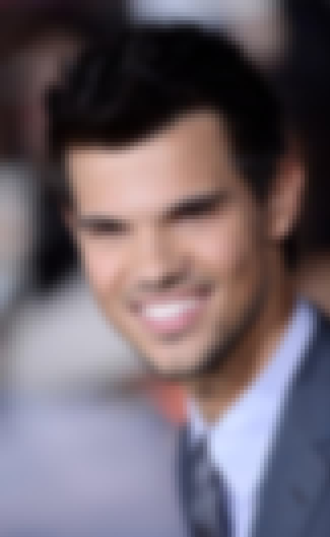 Taylor Lautner is listed (or ranked) 3 on the list Famous People Born in 1992