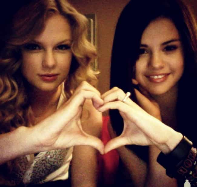 Taylor Swift is listed (or ranked) 1 on the list Famous Friends of Selena Gomez