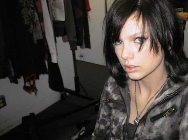 Taylor Swift is listed (or ranked) 3 on the list 12 Celebs Who Went Through A Major Goth Phase