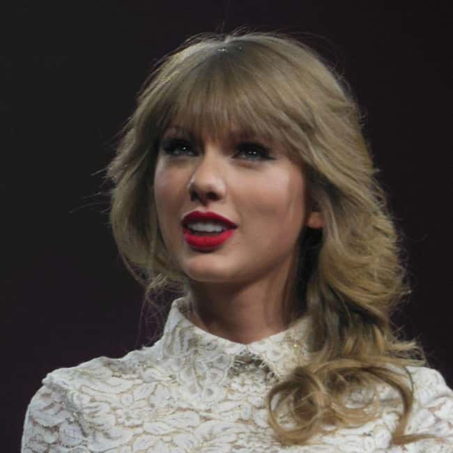 Taylor Swift is listed (or ranked) 54 on the list The Most Captivating Celebrity Eyes (Women)