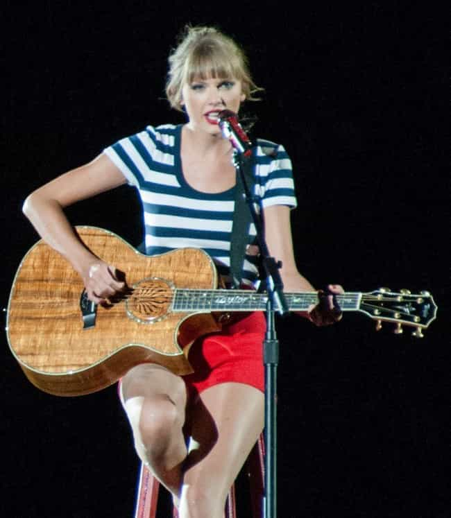 Taylor Swift is listed (or ranked) 4 on the list Celebs Who Were Caught with Fake Followers on Social Media