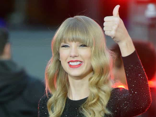 Taylor Swift is listed (or ranked) 7 on the list Famous People of Scottish Descent