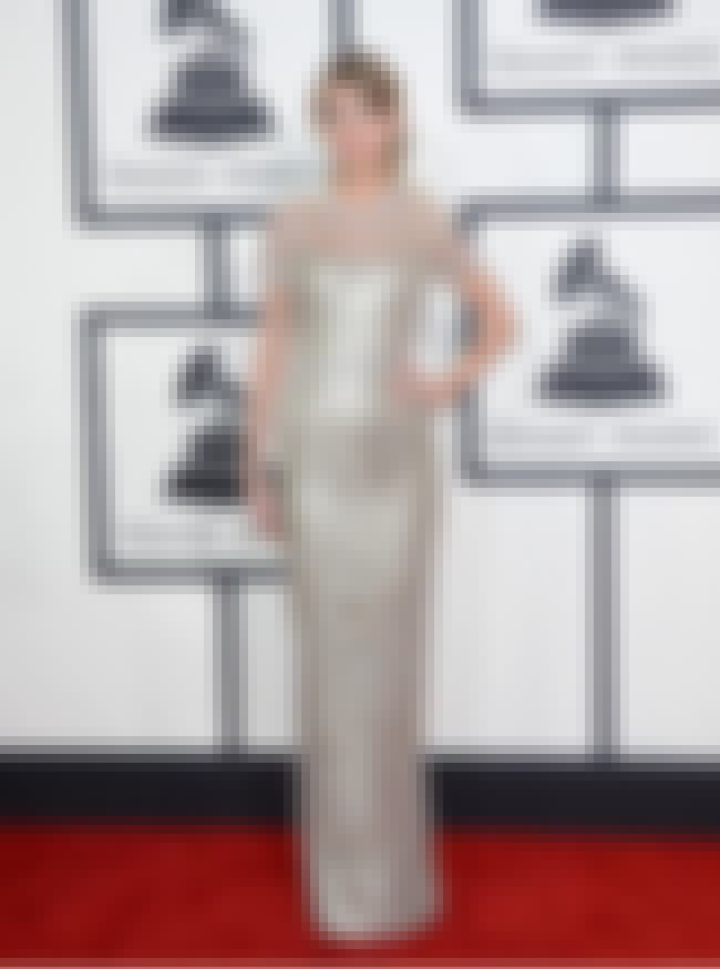 Taylor Swift is listed (or ranked) 1 on the list The Best Grammy Red Carpet Fashions 2014