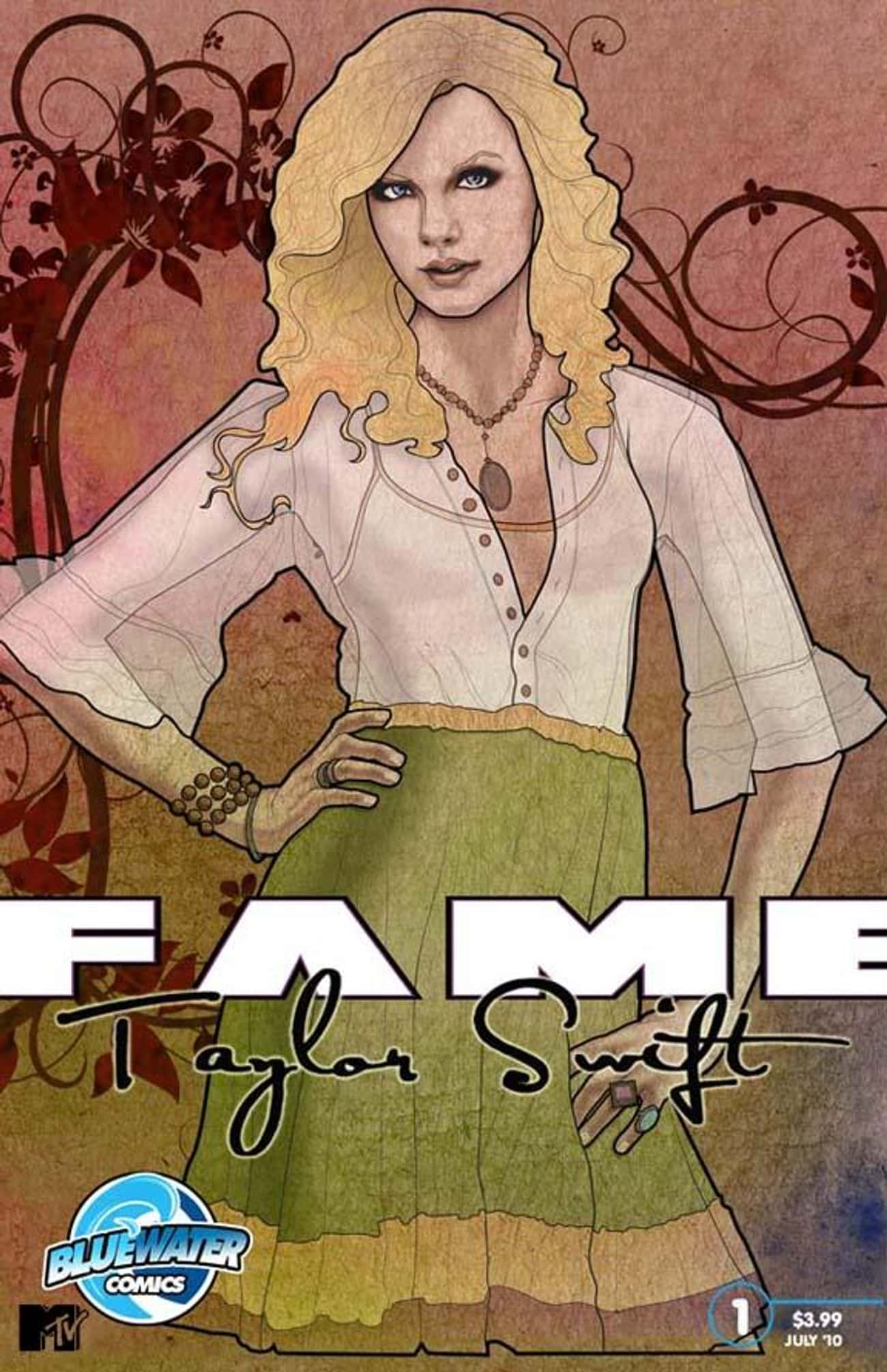 Taylor Swift is listed (or ranked) 4 on the list 50+ Celebrities Who Have Appeared in Comic Books