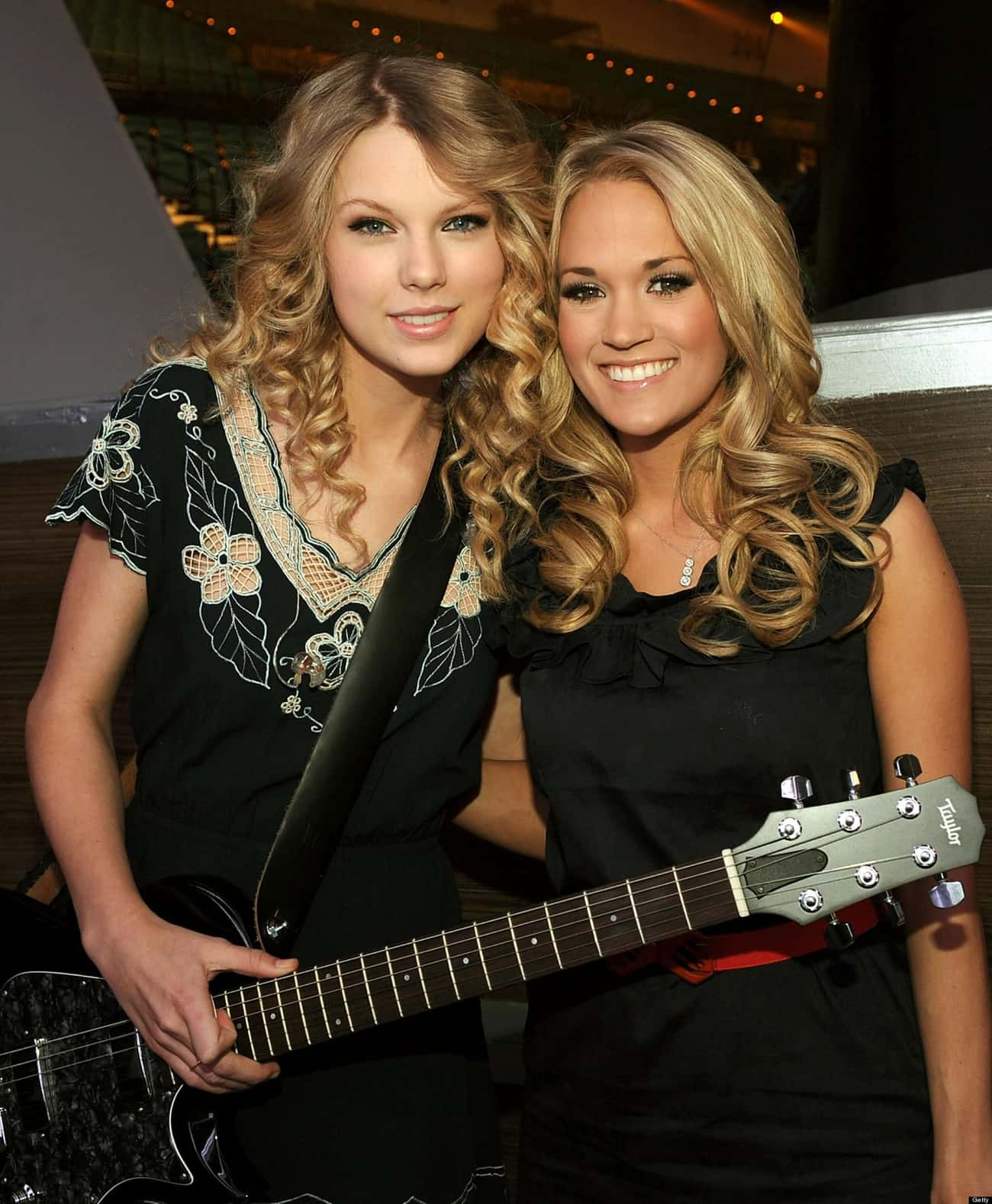 Taylor Swift is listed (or ranked) 2 on the list Famous Friends of Carrie Underwood
