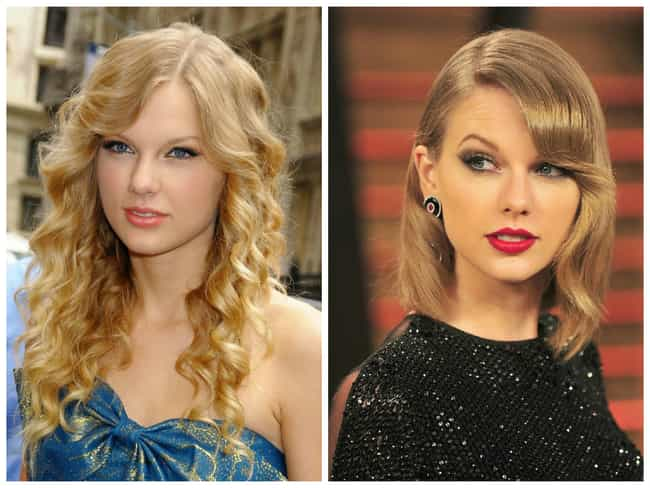 Taylor Swift is listed (or ranked) 3 on the list Celebrities Who Chopped Their Hair & Look Great