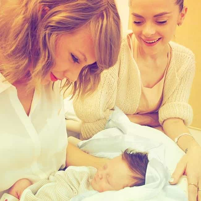 Taylor Swift is listed (or ranked) 1 on the list Celebrities Who Are Godparents for Their Famous Friends