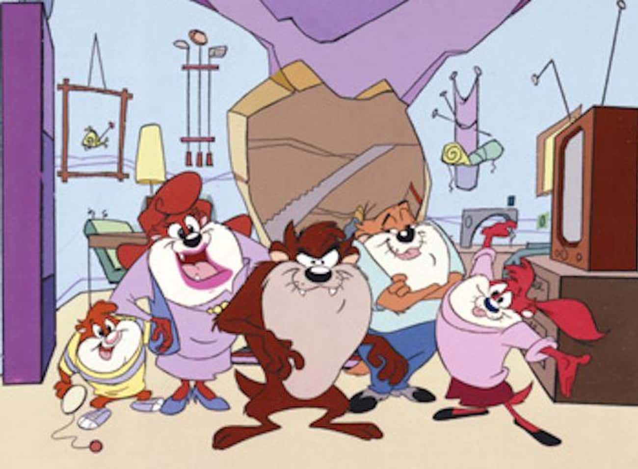 Taz-Mania is listed (or ranked) 1 on the list 13 Awesome Fox Kids Cartoons You Totally Forgot You Used to Watch