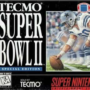 Tecmo Super Bowl II: Special E is listed (or ranked) 10 on the list The Best American Football Games of All Time